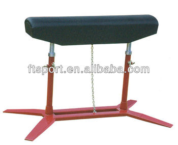 Safe Standard Height Adjustable Gymnastic Vaulting Horse(1000mm-1350mm)