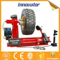 Full automatic heavy duty unite tyre changer for truck tire changing IT619S