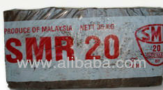 Malaysian Natural Rubber SMR20