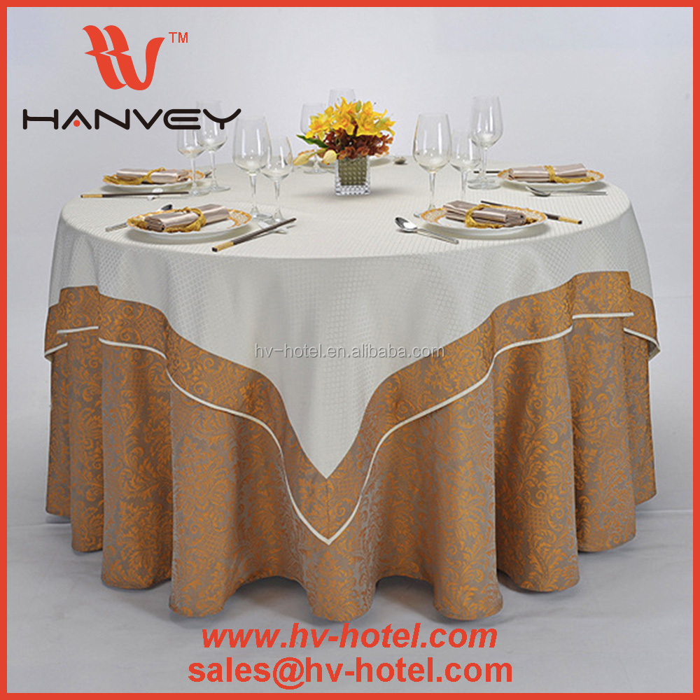 Factory price cheap embroidered hand embroidery designs 120 round white clips tablecloth