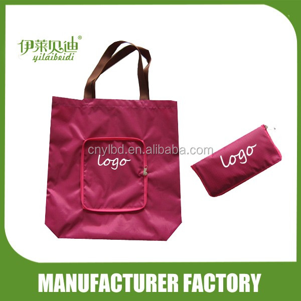 Foldable Shopping Bag with zipper