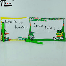 Good and cheap give away gifts printing refrigerator magnet erasable memo board