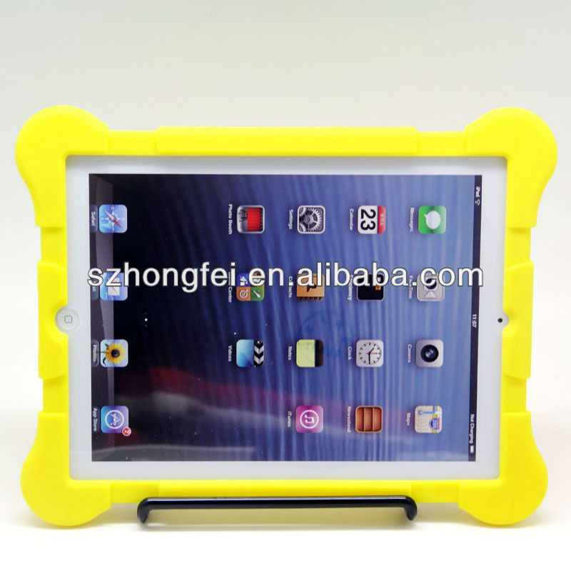 protective rubber cover cases for ipad mini/2/3/4