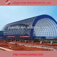 Design High Rise Steel Space Framing Coal Storage Thermal Power Plant