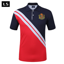 2017 Hot Sales 100% polyester Loose Fit Gents Polo Shirts