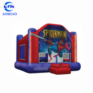 Cool super hero adult bounce house/bouncy castle inflatable, hot sale step 2 inflatable bouncer