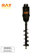 hydraulic fence post hole digger for mini excavator