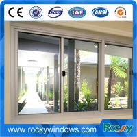 Aluminum frame glass windows/office sliding glass window/office interior sliding window