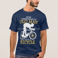2017 Never Underestimate Bicycle Man T-Shirt