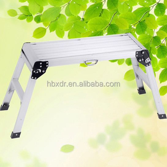 Aluminium Working Platform Ladder,Car Washes Stool
