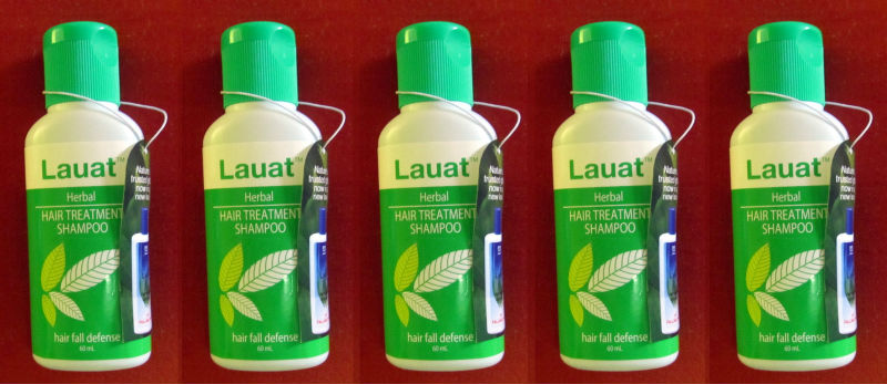 5 Lauat Hair Fall Treatment Herbal Shampoo Small Size
