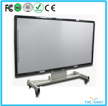 "2015 New Arrival Office 86"" Finger touch electronic portable wireless smart interactive white board"