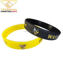 custom silicone wristband printing machine make festival embossed silicon rubber wristband bands bracelets
