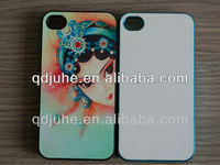 Peking Opera Mask sublimation cell phone case for iphone4/4s cover