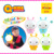 2015 Q-KIDS Hot sale child plastic cartoon lamp high quality
