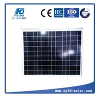 LED street light 50w poly solar panel with high quality and waterproof