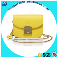 New design women's PU leather mini chain bag small messenger bag