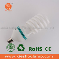Half Spiral Energy Saving Light E27B22 Tri-Color 26W CFL Energy Saving Bulb