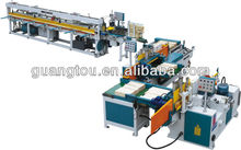 Semi-auto combination production line