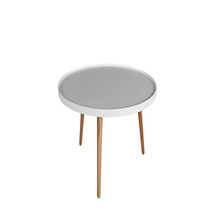 Simply style MDF top wooden figurine tea table / small tea table