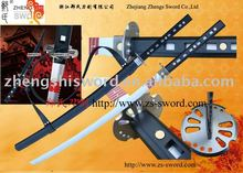 Cartoon Sword- cosplay sword-Movie Storm Shadow Ninja Sword Snake Eyes Black Katana