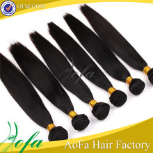 No shedding No tangle Unprocessed Virgin Weft Double Stranded Hair