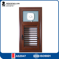 ROGENILAN 45# bathroom louver window , aluminium window louver