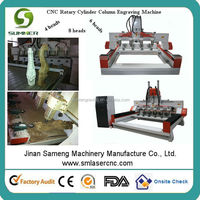 SM1315 cnc router machine need for carving chair legs figures of elephants buddha horses can be 4 cores