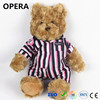 cute promotional gifts golden fur softer plush animal clothes stuffed big size toy teddy bear