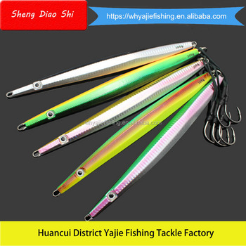 Saltwater Lead Product 300G 34CM Big Gram Lead Vertical Jigging Lures