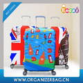 Encai New Printing Thicker Luggage Case Cover With Zipper Travel Luggage Cover Protector