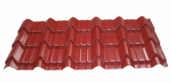 glazed roof tile roll forming machine roof tile making machine