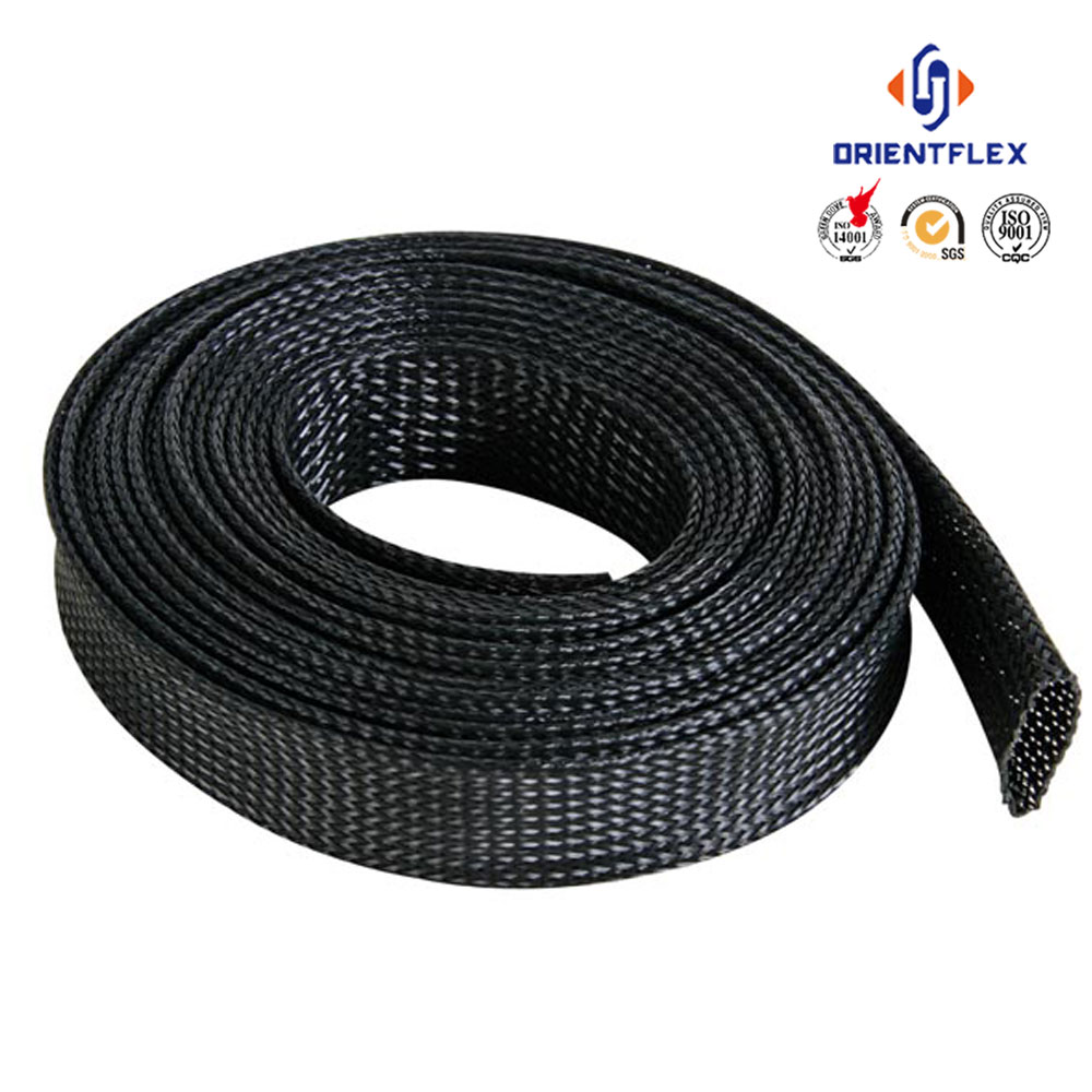 China Rubber Hydraulic Hose nylon textile sleeve