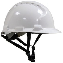 engineering safety helmet with chin strap
