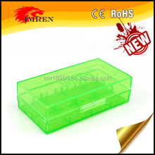 2*18650 or 4*18350 or 4*16340 batteries plastic battery storage case/box