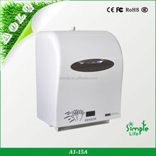 Plastic automatic motion-activated paper towel dispenser