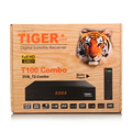 Tiger T100 Combo Arabic DVB-S2 DVB-T2 Combo Internet Radio Set Top Box