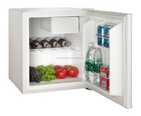 white color compressor mini bar with freezer for hotel room