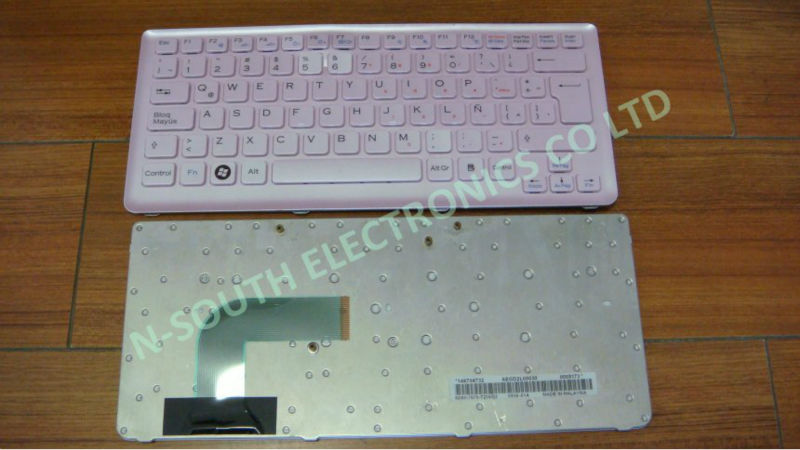 Replacement laptop keyboard for sony cs pink uk , computer keyboards