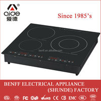 Freestanding metal body top plate cook radiator gas cover