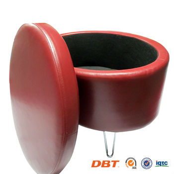 Round Sofa with storage Ottoman