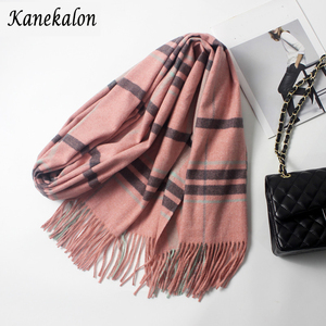 Kanekalon PH023 Fashion Scarf with 10 Colors Super Soft Classic Cashmere Feel Winter Scarf for Women