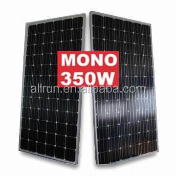 A grade 350W 340W 300W 200W 180w solar module 48V PV WITH CE TUV AND IEC