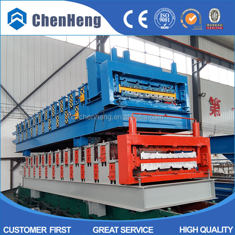 Shutter Door and Door Frame Steel Profile double cd and ud keel machine