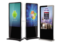 OEM quick deliver touch screen xxx sex solar panel advertising led display