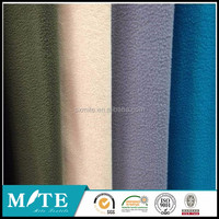 100%Polyester knitting fabric polar fleece and lamb fabric with laminate fabric