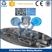 CE STANDARD HIGH SPEED PRECISION PVC MEDICAL PIPE PRODUCTION LINE