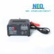 Portableautomatically 6V/12v 1A-4A voltage current switching battery charger.
