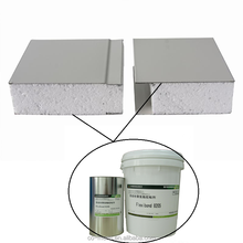 Doulble component polyurethane adhesive/glue for aluminum honeycomb, wood, PU foam, polystyrene foam board