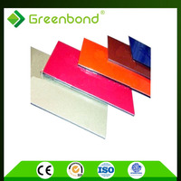 Greenbond interior used aluminum composite panel acp cladding design